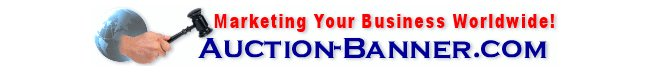Banner Advertising for Auction Sellers & Owners