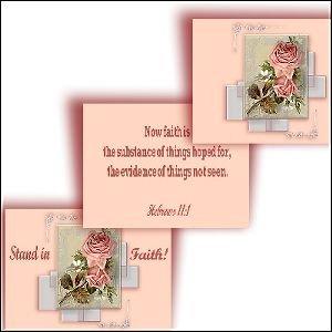 Hebrews 11:1 Faith Screen-Saver