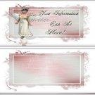 Angel Frame Custom Candy Wrapper Design