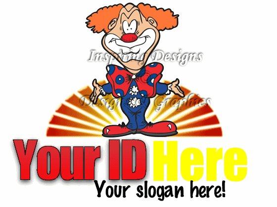 Fun Clown Logo 8
