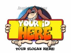 Cartoon Style Logo 24 Monkeyng Around w Banner