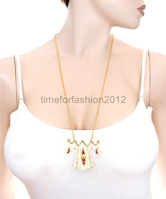 FASHION NECKLACE SUPER CHIC SEXY ANGEL GOWN PENDANT