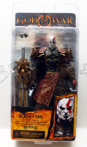 God of War II KRATOS in Ares Armor Figure NECA type A (Free Shipping)