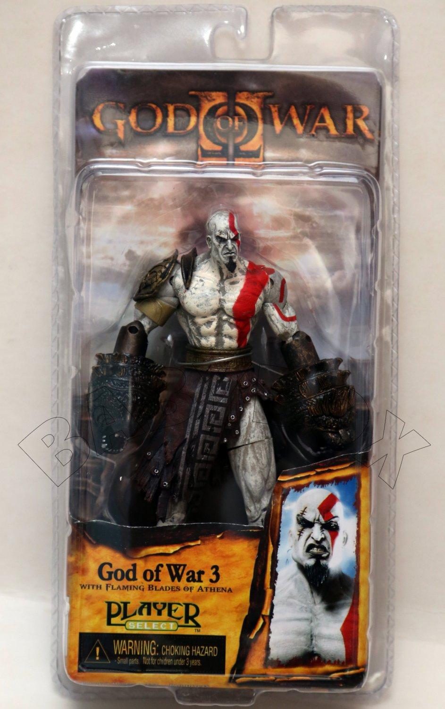 God of War 3 KRATOS Blades of Athena Figure NECA (free ...