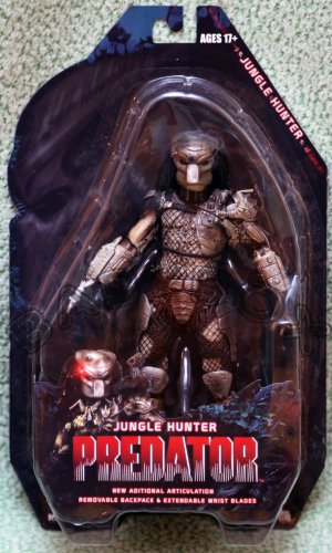 Predator Jungle Hunter action figure 25th NECA ALIEN