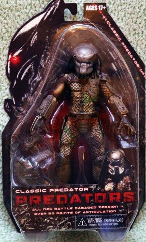 Predators Classic Predator Damaged Version action figure NECA ALIEN