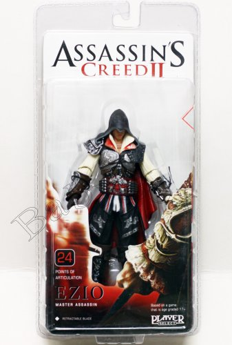 Assassin's Creed II EZIO Black Action Figure NECA  (Free shipping)