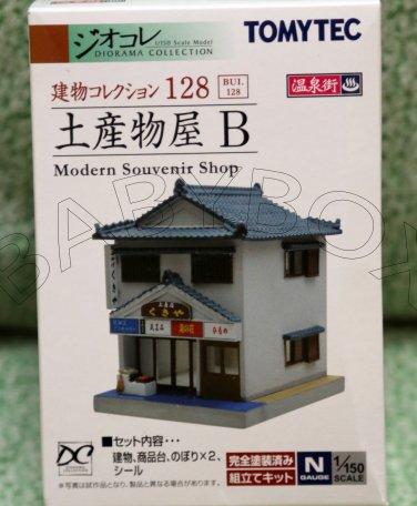 Tomytec Modern Souvenir Shop Diorama Collection N GAUGE 1/150 SCALE 128