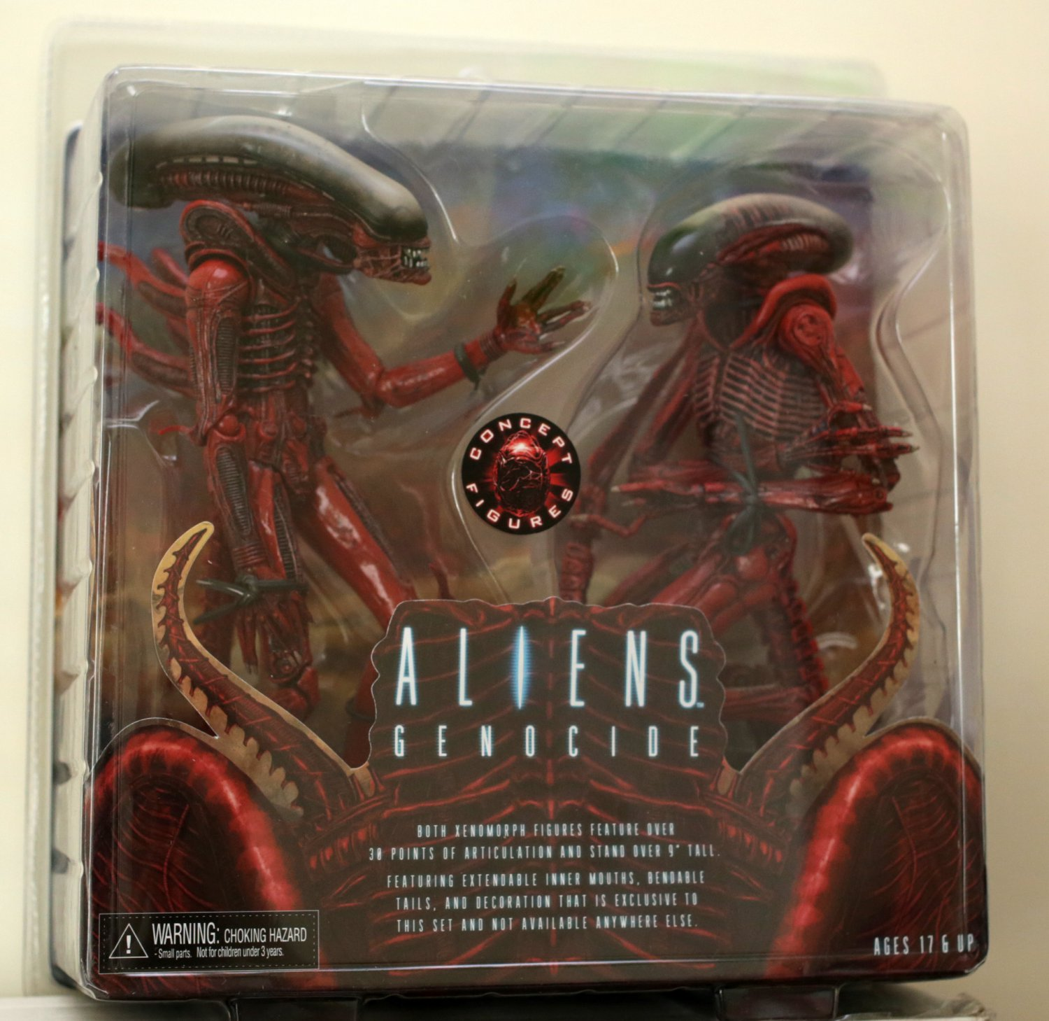 Alien Genocide 2pack action figure NECA (Free Shipping)