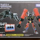 Transformers Masterpiece MP-15 Rumble & Jaguar Action Figure (Free Shipping)