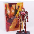 Hoc Hoi 1/6 Iron Man Mark 43 Action Figure With LED (Free shipping)