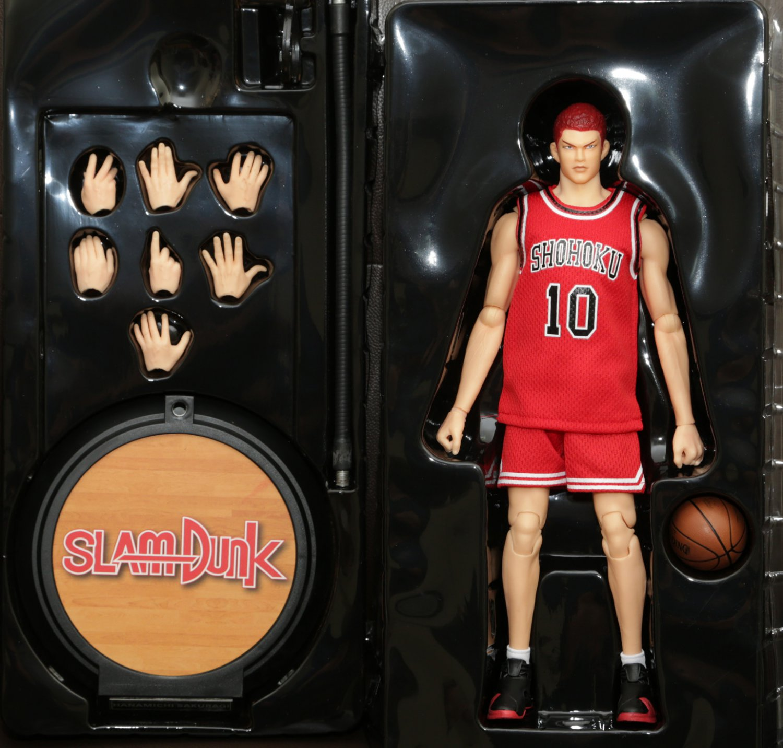 Slam Dunk Hanamichi Sakuragi Basketball NBA Action Figure 1/6 (Free shipping)