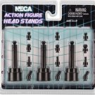 """Action Figure Head Stands for 6"""" to 8"""" size NECA  (Free Shipping)"""