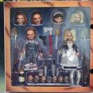 Ultimate Chucky & Tiffany Action Figure NECA  (Free Shipping)