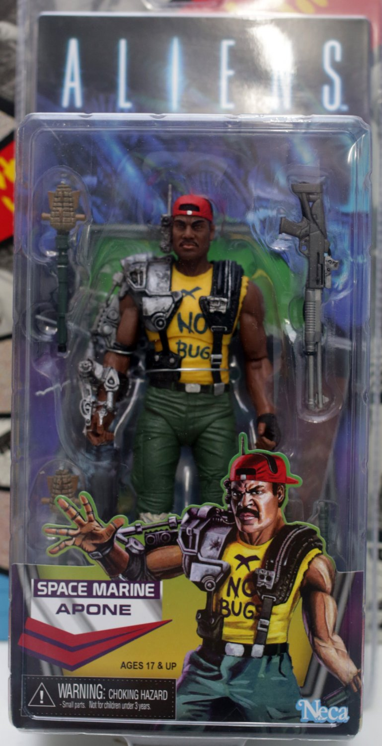 Alien Space Marine Apone Action Figure NECA (Free Shipping)