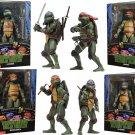 Teenage Mutant Ninja Turtles 1990 Movie Set of 4 Action Figure NECA  (Free Shipping)