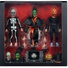 "Halloween III Season of the Witch Silver Shamrock 8"" Clothed Action Figure NECA (Free Shipping)"