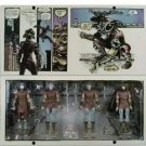 TMNT Teenage Mutant Ninja Turtles Foot Clan NYCC SDCC 4-Pack PVC Figure NECA  (Free Shipping)
