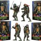TMNT Teenage Mutant Ninja Turtles 1990 Movie Set of 4 Action Figure NECA  (Free Shipping)