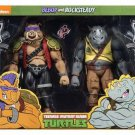 TMNT Teenage Mutant Ninja Turtles Bebop Rocksteady 2 Pack Action Figure NECA (Free Shipping)