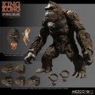 King Kong of Skull Island Action Figure Mezco (Free Shipping)