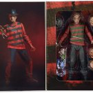 A Nightmare on Elm Street Freddy Krueger Action Figure NECA (Free Shipping)