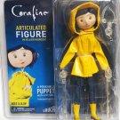 Coraline Laika in Yellow Raincoat Articulated Figure NECA (Free Shipping)