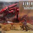 Red Alien Queen Mother Deluxe Aliens Action Figure NECA (Free Shipping)