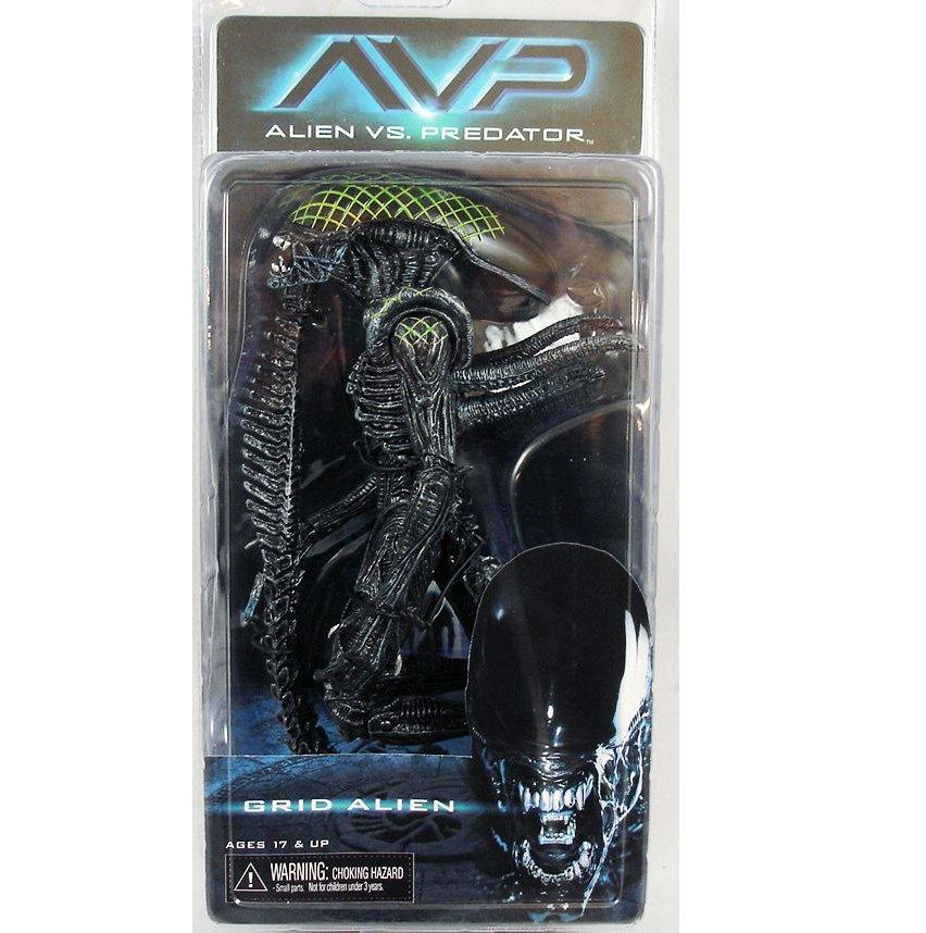 AVP Alien Grid figure NECA (Free Shipping)
