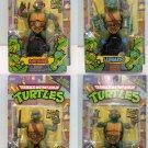 TMNT Teenage Mutant Ninja Turtles Set of 4 Action Figure Playmate (Free Shipping)