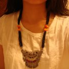 Black National Tibet mysterious ancient totem Necklace N003