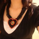 National Tibet pure handmade necklace B-178 characteristics N010