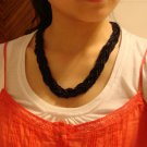 National Tibet beads twist Necklace D-125 N015