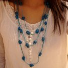 National Tibet Turquoise Necklace A-023 N021