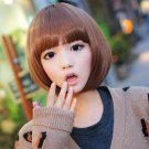 Free Shipping high quality Guarantee100% A++++++ Hot-sales brand new Short wig Qi Liu bobo