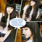 Free Shipping high quality Guarantee100% A++++++ Hot-sales brand new  wig W005 Qi bangs long hair