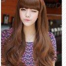 Free Shipping high quality Guarantee100% A++++++ Hot-sales brand new  wig W009 Qi bangs long hair