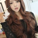 Free Shipping high quality Guarantee100% A++++++ Hot-sales brand new  wig W011 Oblique bangs curls