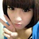 Free Shipping high quality Guarantee100% Hot-sales brand new  wig W015 Short straight hair Qi Liu
