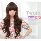 Free Shipping high quality Guarantee100% Hot-sales brand new  wig W018 Qi bangs long hair
