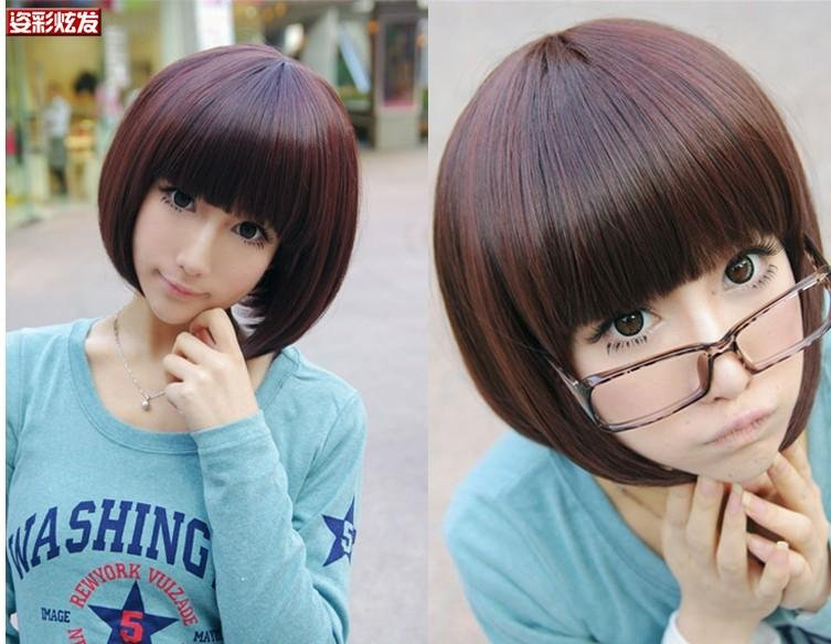 Free Shipping high quality Guarantee100% Hot-sales brand new  wig W019 Qi Liu bobo