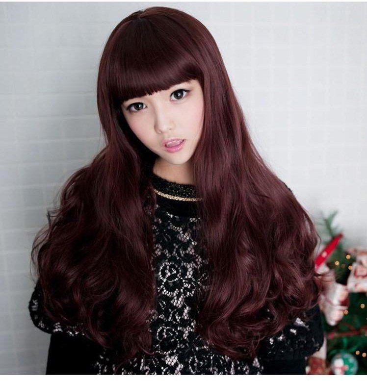 Free Shipping high quality Guarantee100% Hot-sales brand new  wig W021 Long curly hair