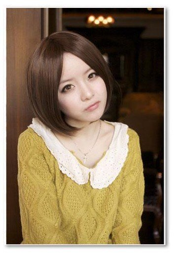 Free Shipping high quality Guarantee100% Hot-sales brand new  wig W023 Fringe BOBO