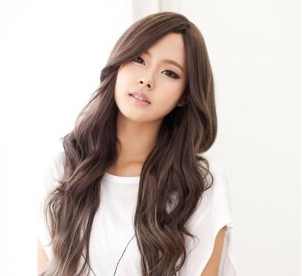 Free Shipping high quality Guarantee100% Hot-sales brand new  wig W031 Carved long curly hair