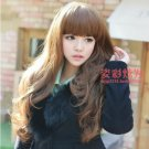 Free Shipping high quality Guarantee100% Hot-sales brand new  wig W040 Qi bangs long curly hair