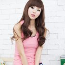 Free Shipping high quality Guarantee100% Hot-sales brand new  wig W052 Oblique bangs long hair