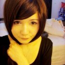 Free Shipping high quality Guarantee100% Hot-sales brand new  wig W053BOBO oblique bangs