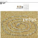 Free Shipping high quality Guarantee100% 925Sterling Silver Necklace brand new  N004
