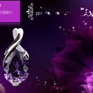 Free Shipping high quality 925Sterling Silver Guarantee100% Angel Tears NecklaceN009