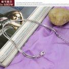 Free Shipping high quality 925Sterling Silver Guarantee100% Yi Gu Chain Tassel Bracelet B025